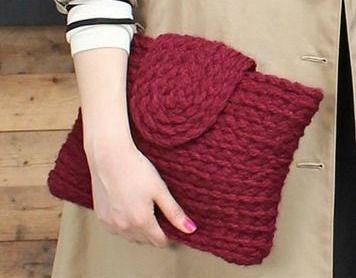 Bolso de mano (trapillo) en BARCELONA (07/03/2015)   Costuretas Social Club, apúntate online en The Hobby Maker