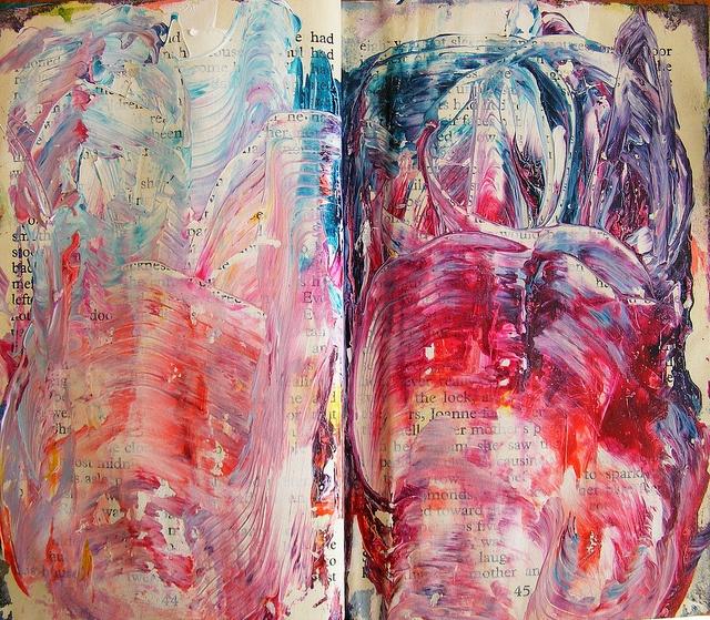 Art Journal Background, via Flickr.