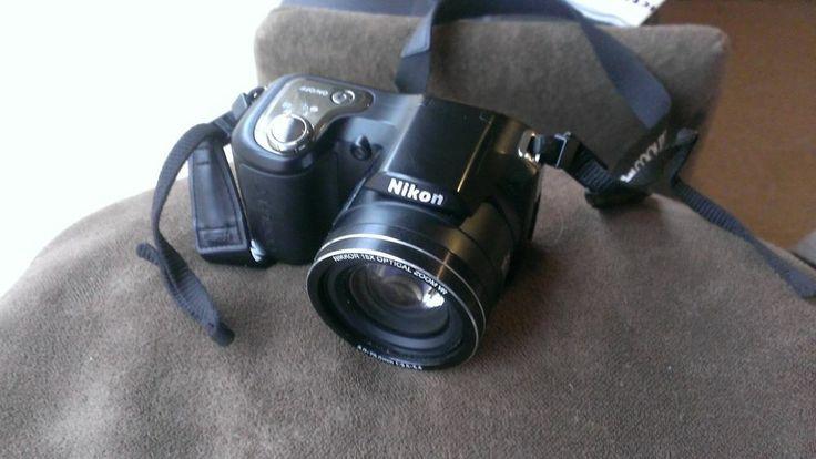 Nikon COOLPIX L100 10.0 MP Digital Camera - Black