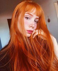 Instagram media by ruivosdobrasil - A linda da @mmiruiz ✨ (Igora 8.77 + Ox30 + Tonaliza com Anilina laranja) #ruivo #ruiva #redhair #ruivosdobrasil