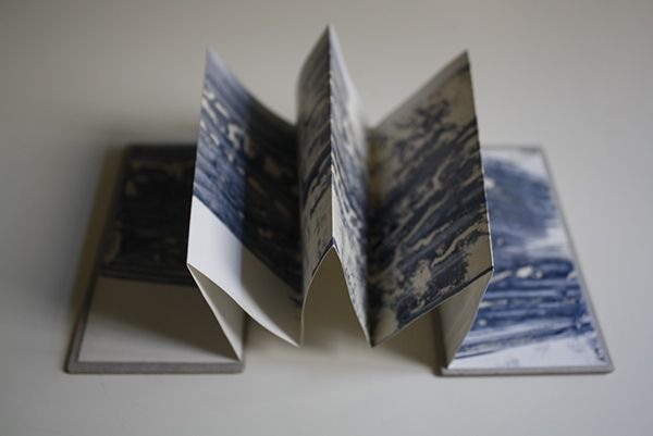 Artist's Book with cyanotype on Behance