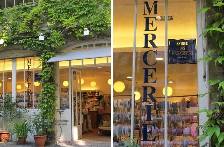 Una mercería muy bonita en el centro de París | el taller de las cosas bonitas