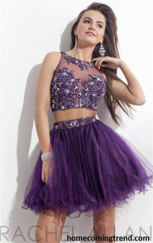 17 Best ideas about Purple Homecoming Dresses on Pinterest | Cute ...
