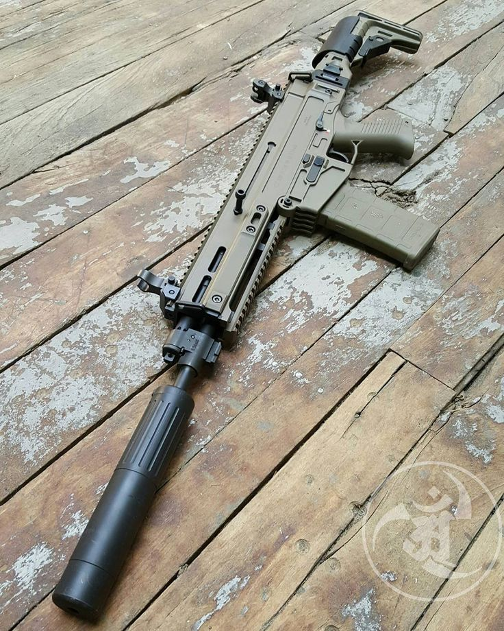 New favorite rifle. @czusafirearms 805 Bren FDE SBR.  #gunsdaily #weaponsdaily…