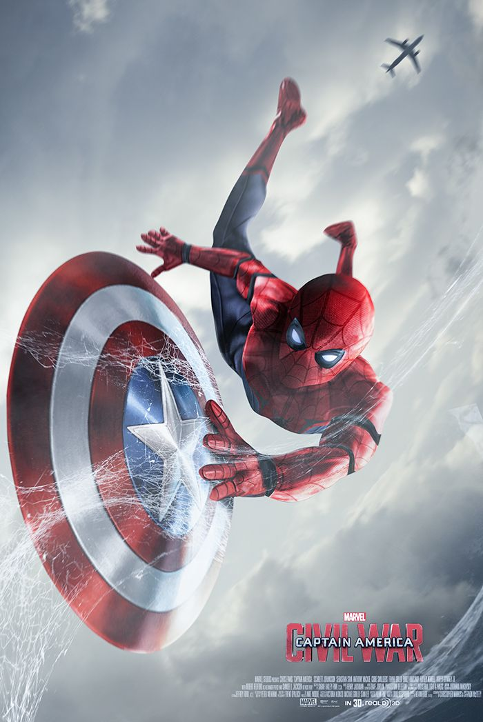 Here are a few Spiderman posters to show love to the all new Spidey