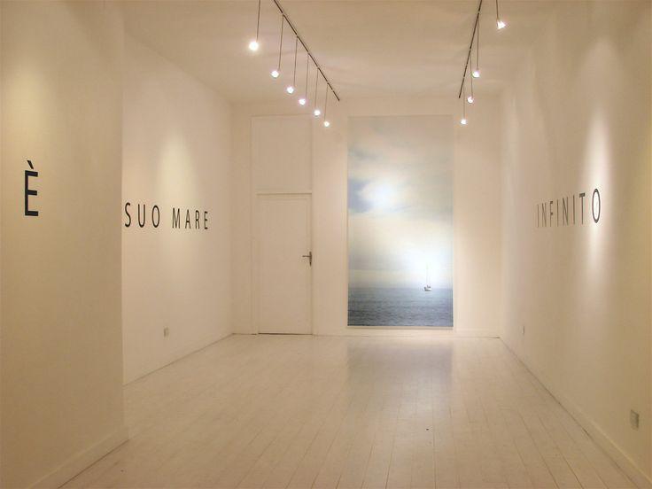 Infinito è il suo mare, Blublauer spazio arte, Alghero, 2007