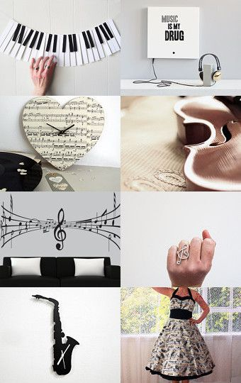 Music is in little things... by Francesca Vicario on Etsy--Pinned with TreasuryPin.com