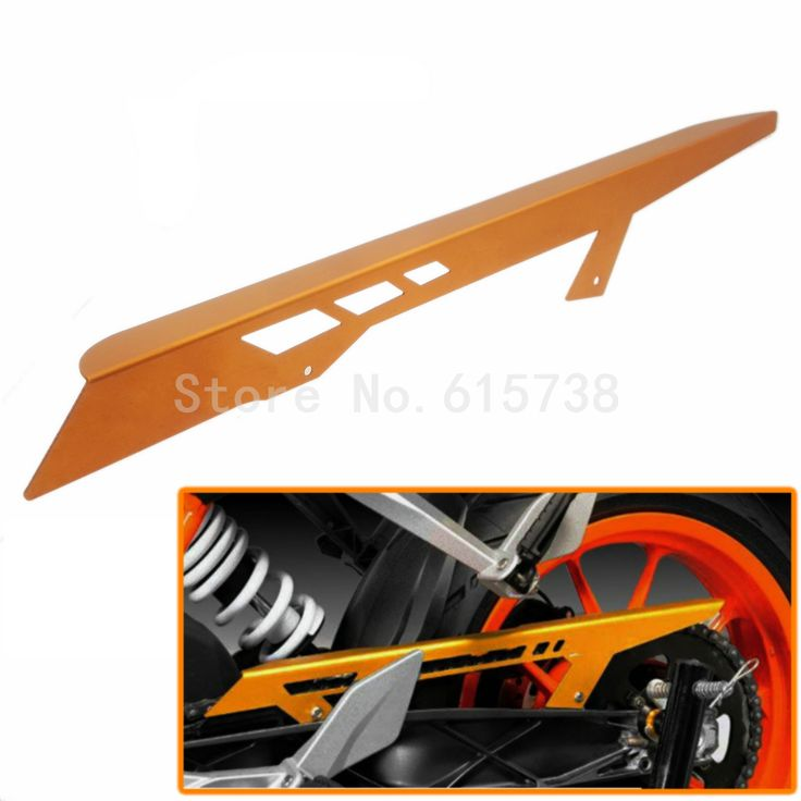 New Anodized Orange Chain Guard Cover For KTM 125 Duke 2011-2016 200 2012-2016 390 2013-2016 RC125 RC200 2014 - 2016 2015 #Affiliate