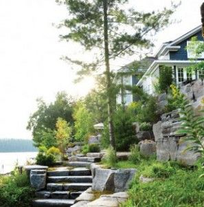 Chatelaine - A peek inside a stunning Muskoka, Ontario cottage.   Long sultry days punctuated with dips in the refreshing water of a pristine lake, s'mores by the campfire and warm star-filled nights are the essence of summer living.