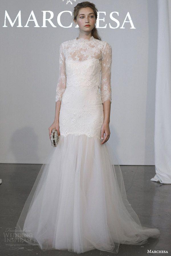 Marchesa Bridal Spring 2015 Wedding Dresses | Wedding Inspirasi