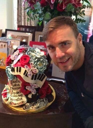 Choccywoccydoodah Birthday Cake For Gary Barlow