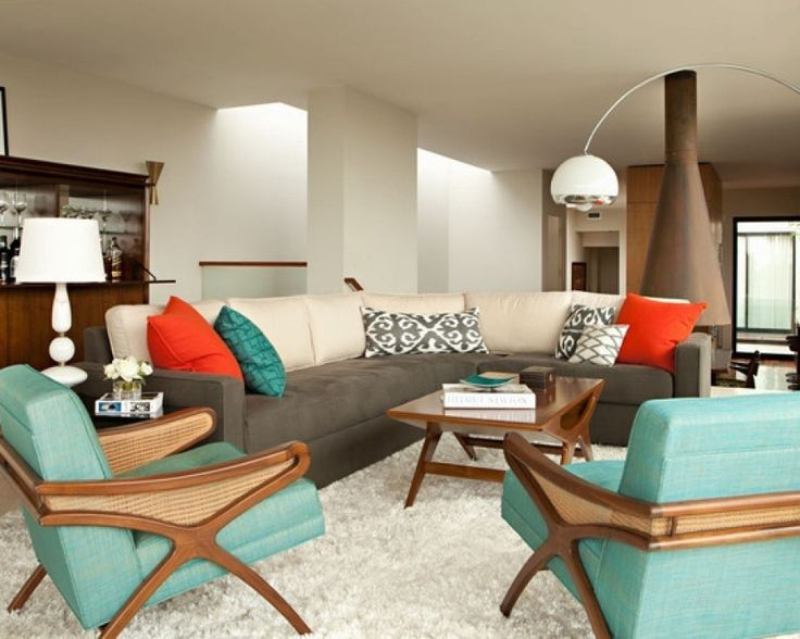Μοντέρνο σαλόνι με retro design !
