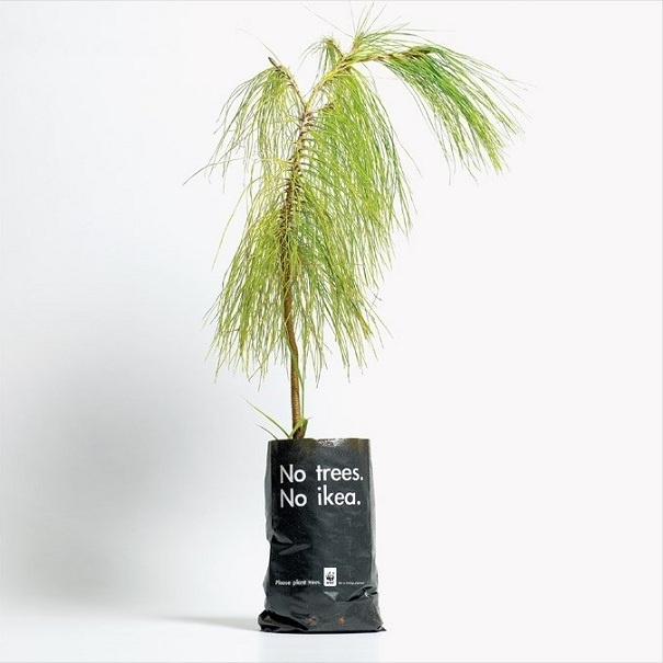 No hay árboles, no hay Ikea::..*•#~~$??*