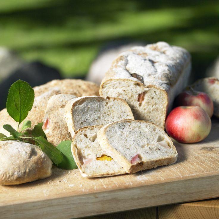 Recept på äpple och aprikosbröd