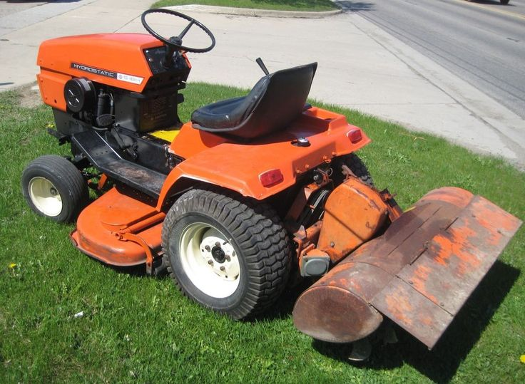 Ariens Lawn Tractor H 16 With Tiller Weights Chain