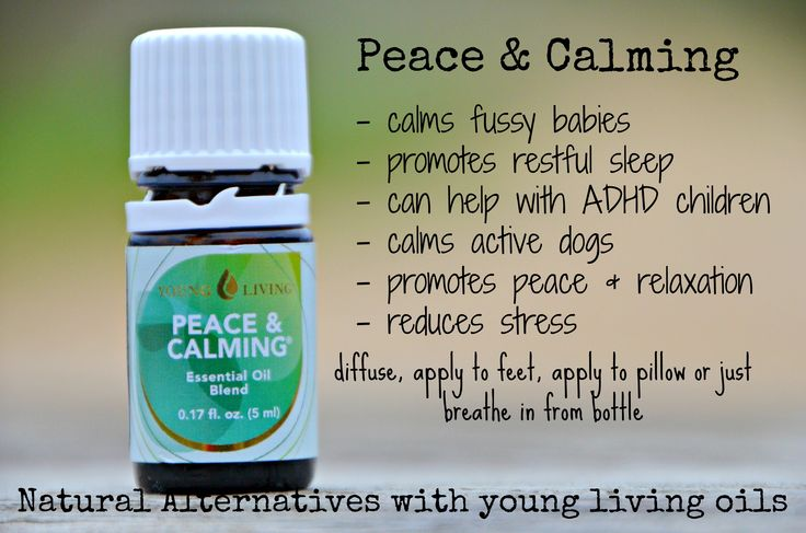 Young Living Peace And Calming Great For Rest