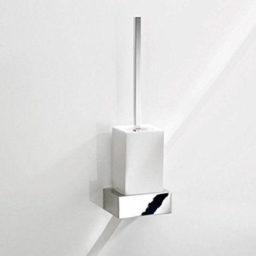 Decor Walther BK WBG BRICK Wand WC Bürstengarnitur, chrom weiß