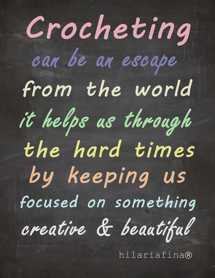 Why People Love To Crochet? ❥ 4U // hf