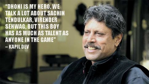 Iconic quote by Kapil Dev
