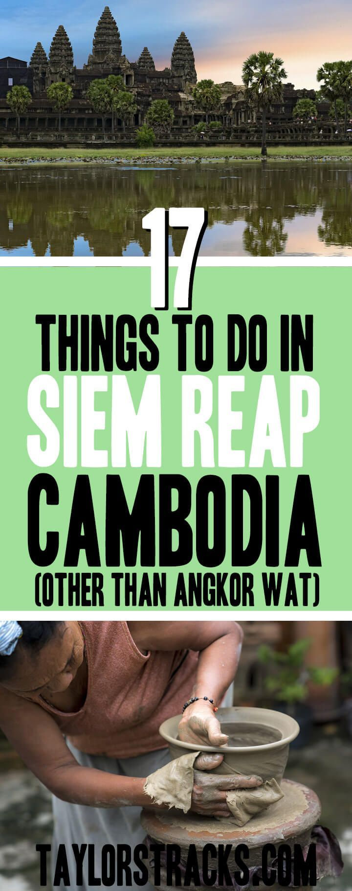 There are so many things to do in Siem Reap that are more than just temples. Click to check out this list of the must-dos and alternative options in Siem Reap, Cambodia. #cambodia #siemreap ***** Siem Reap Cambodia | Things to do in Siem Reap | Cambodia travel | Cambodia destinations | Siem Reap things to do in | Siem Reap hotels | Siem Reap itinerary | Southeast Asia travel | Southeast Asia tips | Southeast Asia destinations