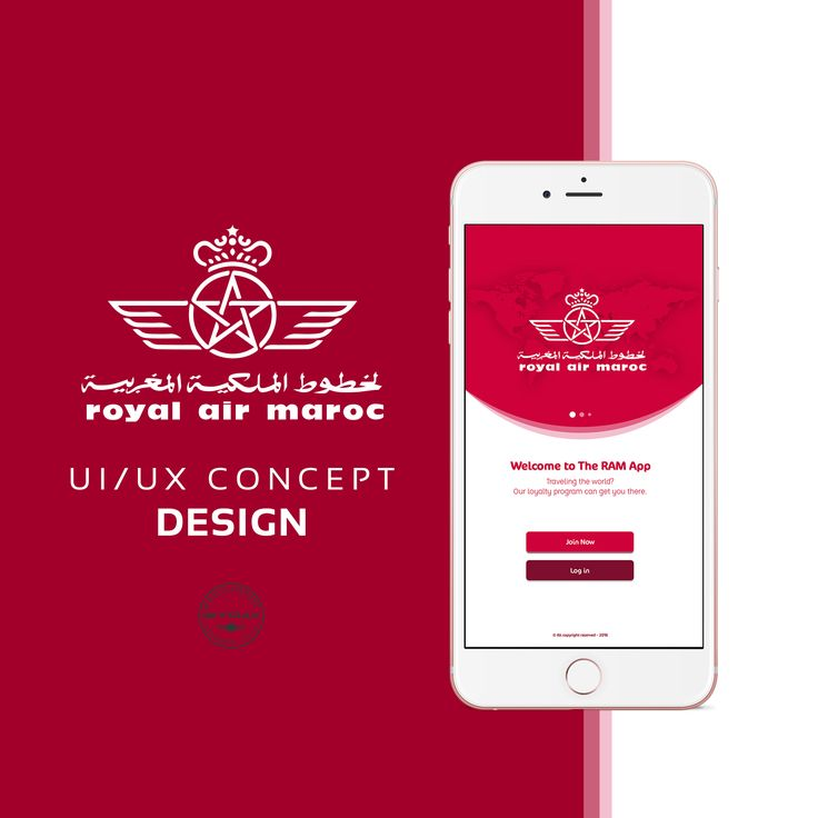 "Check out this @Behance project: ""Royal Air Maroc UI/UX Design Concept"" https://www.behance.net/gallery/44094795/Royal-Air-Maroc-UIUX-Design-Concept"