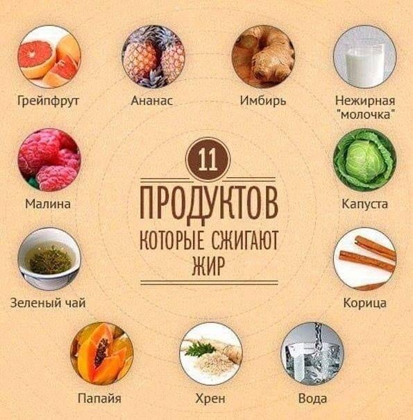 Список продуктов чтобы быстро похудеть