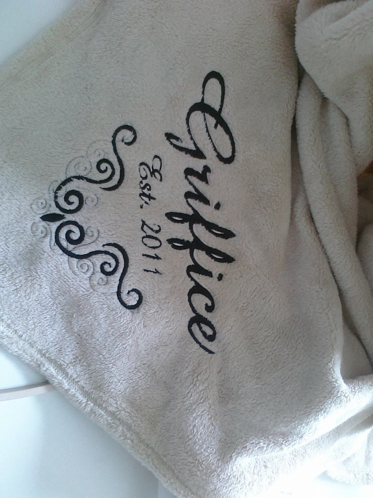 Best personalized wedding blankets images on pinterest