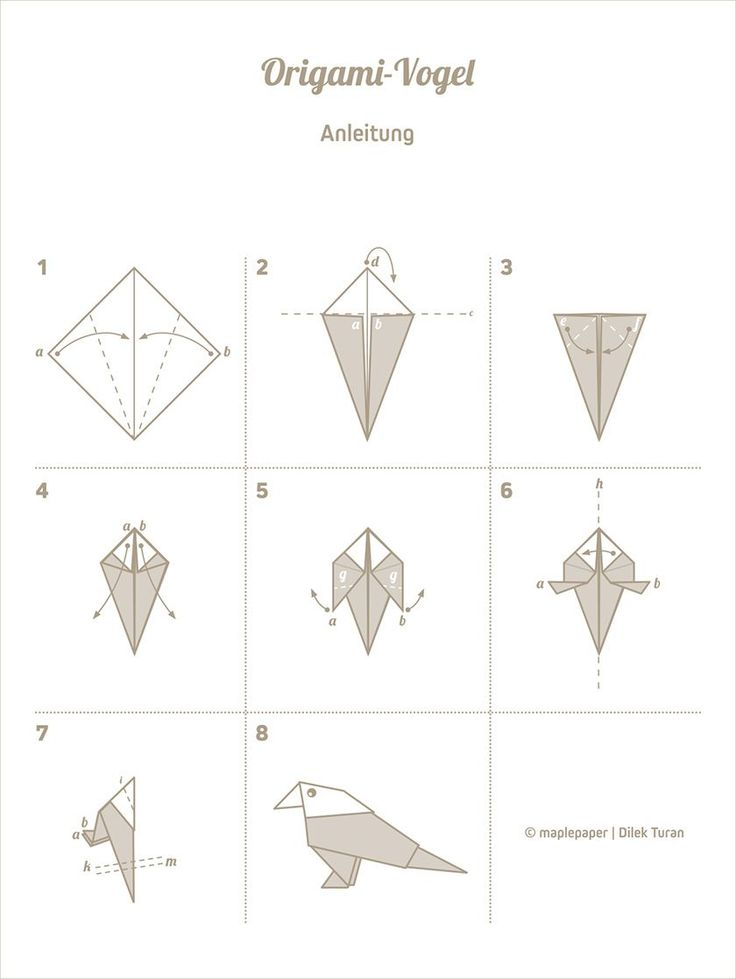 Einfache Origami Faltanleitungen My Blog