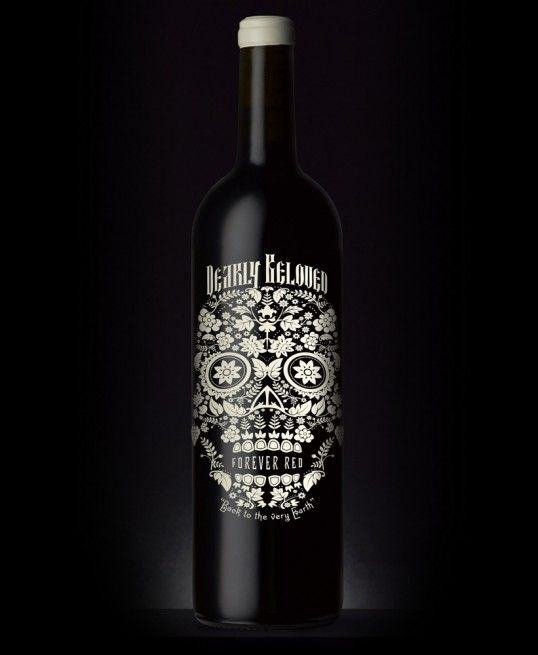 Not only my favorite design on a bottle of wine, but also my favorite wine. Tastes amazing and looks amazing? Double win!