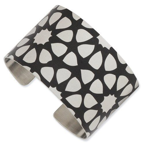 Stainless Steel Seeds Cuff Bangle Chisel. $37.96