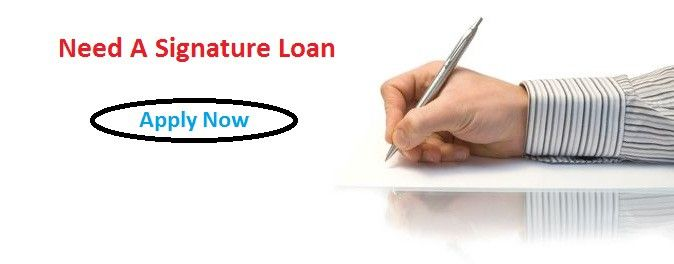 What All You Need To Know About 'Need A Signature Loan'? — Medium
