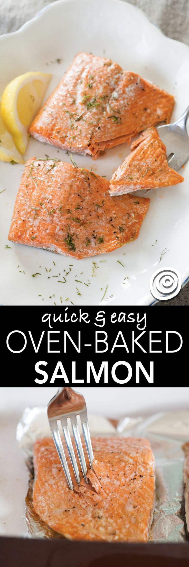 "How to Cook Salmon in the Oven. If you want ""easy, fancy,"" it doesn't get much better than roasted salmon fillets in a pan. It can be one of your new favorite healthy weeknight date night dinners, an al fresco meal with friends, or dinner to impress your (Paleo Salmon One Pan)"