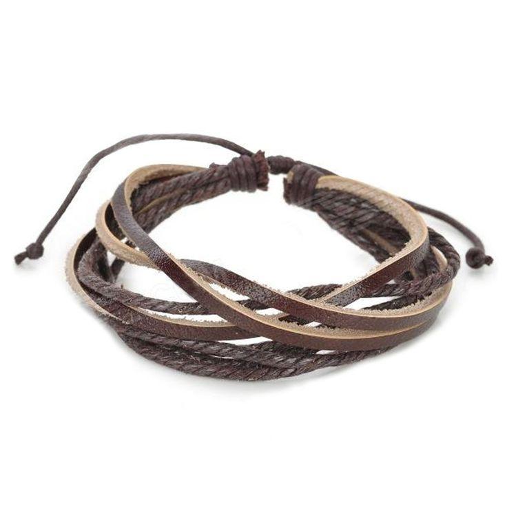 pulseira masculina, pulseira de corda, pulseira de couro, pulseira fashion, pulseira da moda