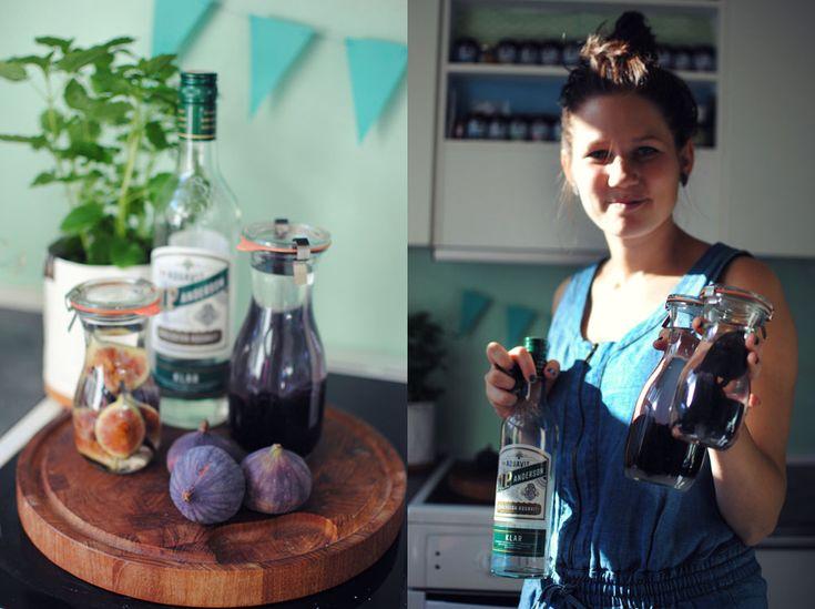 Opskrift: Snaps med brombær eller figen og vanillie
