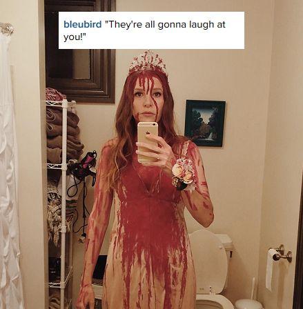 Carrie White costume inspo