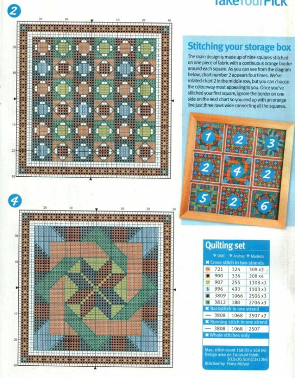 85 best Cross Stitch Quilting images on Pinterest | Punto croce ... : cross stitch quilt block patterns - Adamdwight.com
