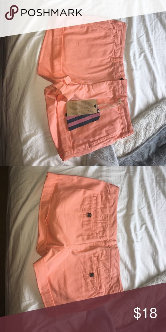 Peach Jack Wills Shorts U.K. Never worn new with tags jack Wills shorts. They are too big for me. Size 6 in us size 10 in U.K. Jack Wills Shorts Cargos