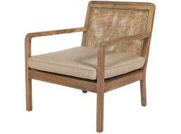 Love the relaxed comfort of the Baha Occasional Chair