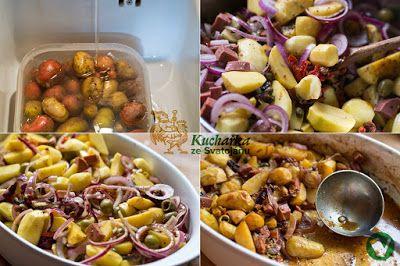 PIKANTNÍ PEČENÉ BRAMBORY Kuchařka ze Svatojánu: Hlavní jídla