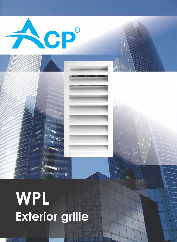 Exterior grille WPL