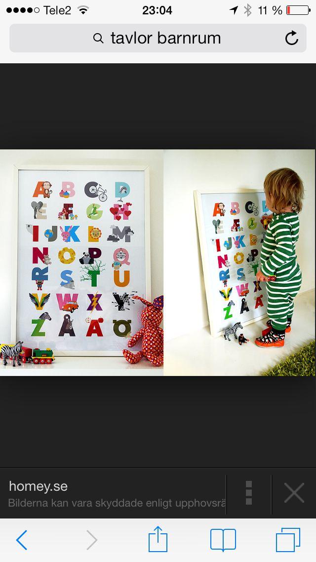 ABC-tavla barnrum