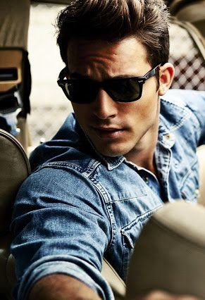 Anthony Greenfield; who wants to be in the back of the car with him looking like that?