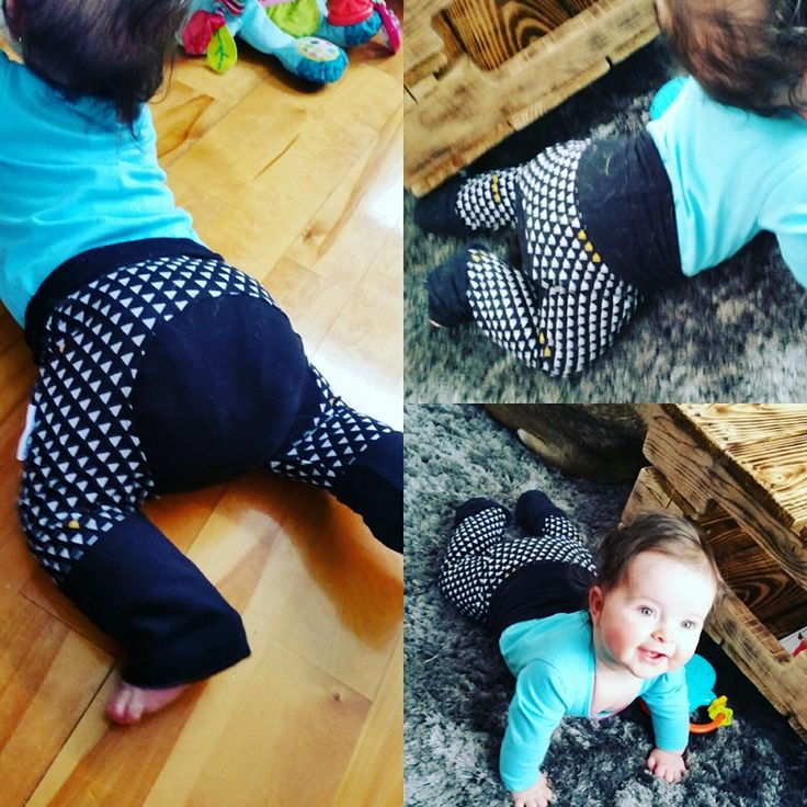 Evolutive baby pants for the clothes diapered baby. Infant pants - toddler pants - maxaloones
