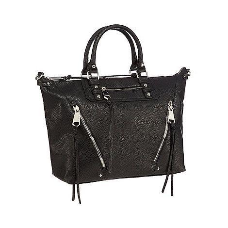 Betty Jackson.Black Black textured tote bag | Debenhams