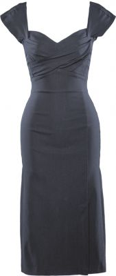 Sexy rockabilly dress in black, Wrap Twist - Stop Staring! Clothing  Love this