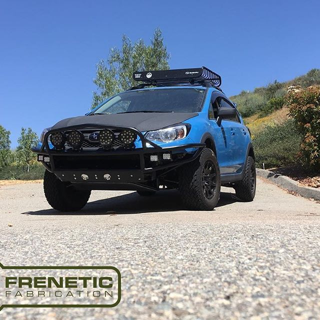 The new and improved hydra 2.0 bumper! Compliments of @freneticfab. Thank you so much for this awesome bumper! It looks fantastic. Can't wait for stage 2 to commence #subaru #Offroad #bumper #lights. #bumpercar #crosstrek @crosstrekculture #adf #andersondesignfabrication #wilcooffroad @jims_auto_service_crestline