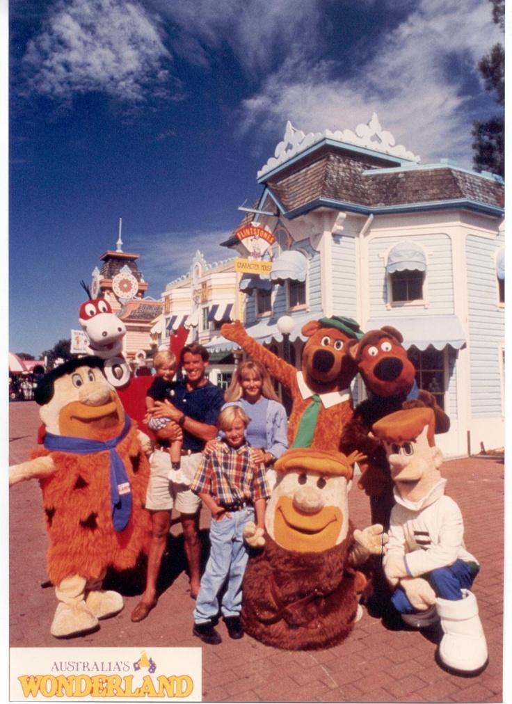 The Hanna Barbera Crew from Australia's Wonderland