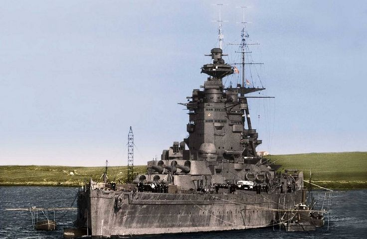 Now this is what a battleship SHOULD look like..HMS Nelson