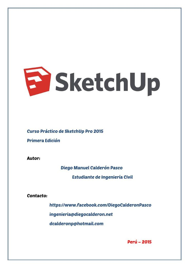 Libro sketchup pro 2015