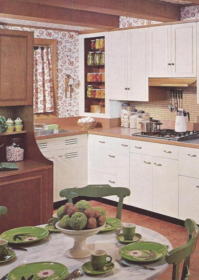 Vintage Home Decor   Vintage Home Decorating, 1960s home decor